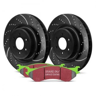 EBC® - Stage 3 Truck and SUV Dimpled and Slotted Front Brake Kit