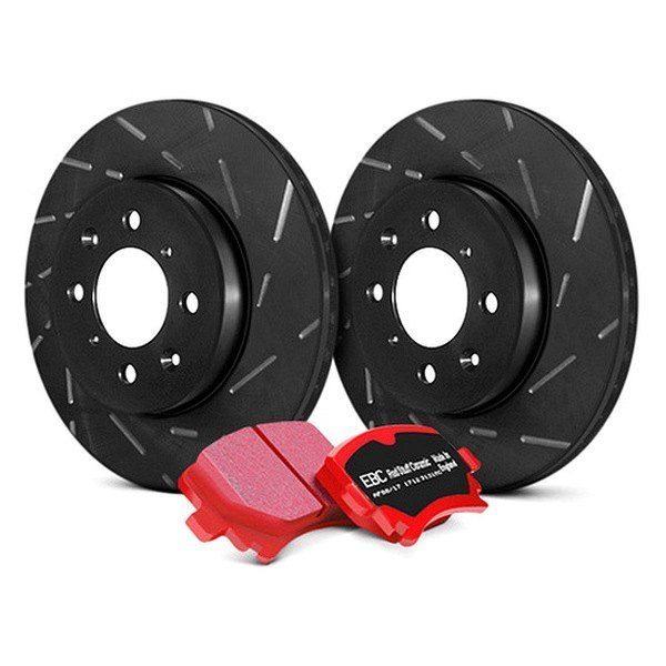 EBC® - Stage 4 Signature Slotted Front Brake Kit - New