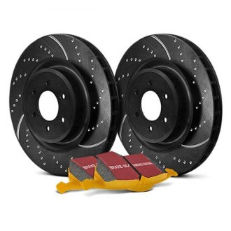 EBC® - Stage 5 Super Street Dimpled and Slotted Front Brake Kit
