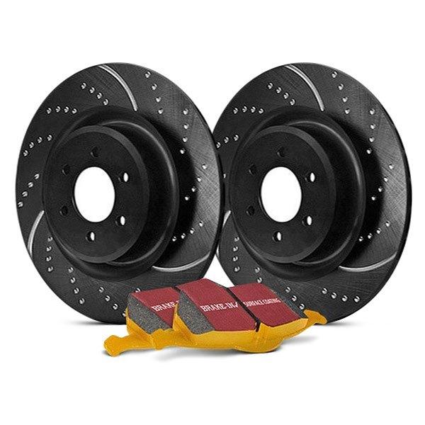 EBC S4KR1032 Stage-4 Signature Brake Kit EBC Brakes