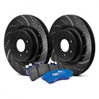 EBC® - Stage 6 Track Day Dimpled and Slotted Front Brake Kit