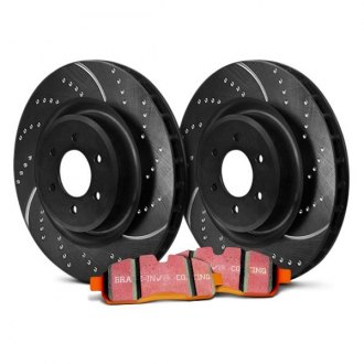 EBC® - Stage 8 Super Truck Dimpled and Slotted Brake Kit