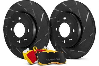EBC® - Stage 9 Super Sleeper Slotted Front Brake Kit - New