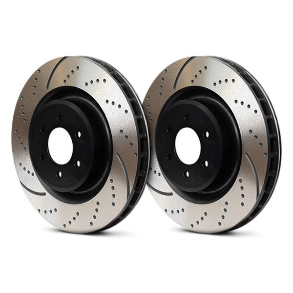EBC® - 3GD Series Dimpled and Slotted Sport Rotors, After Use