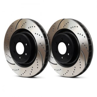 EBC® - 3GD Series Drilled and Slotted Front Sport Rotors