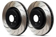 EBC� - 3GD Series Drilled and Slotted Sport Front Rotors