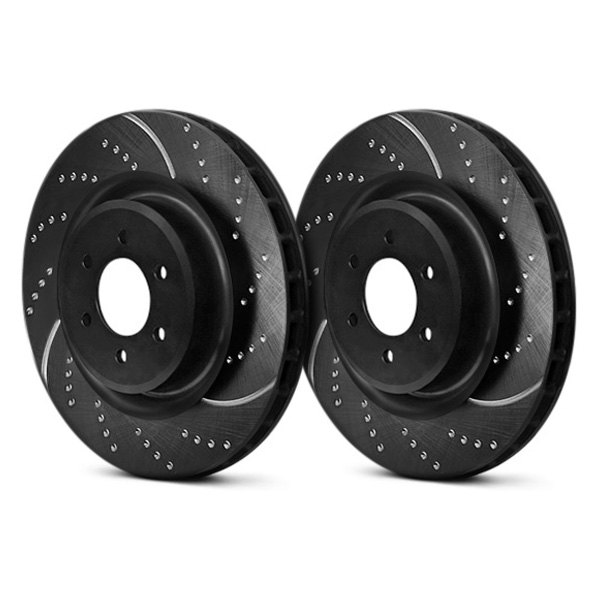 EBC® - 3GD Series Dimpled and Slotted Sport Rotors Before Use