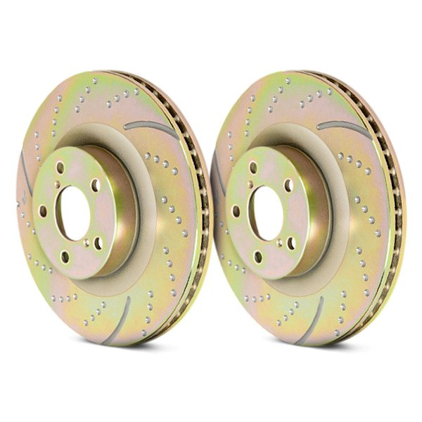 EBC® - 3GD Series Dimpled and Slotted Sport Rotors, New