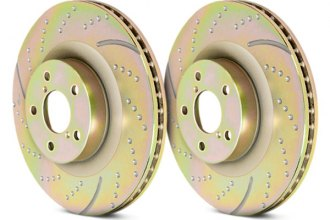 EBC® - 3GD Series Dimpled and Slotted Sport Front Rotors