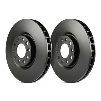 EBC® - RK Series Premium Plain Vented 1-Piece Front Brake Rotors