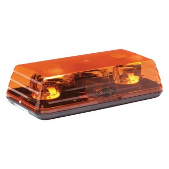 "ECCO® - 15"" Blaze II™ Rotating Amber Mini Beacon Light Bar"