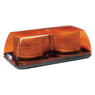 "ECCO® - 15"" Amber Mini Beacon Light Bar"