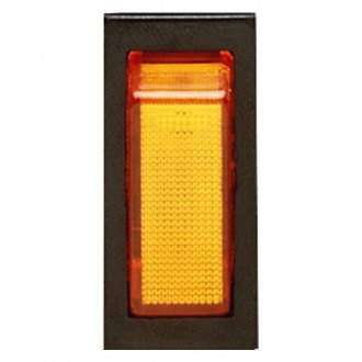 ECCO® - Illuminated Amber Rocker Switch