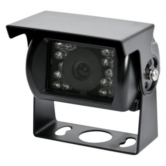 ECCO® - Gemineye™ Surface Mount White Rear View Camera with Microphone and Night Vision