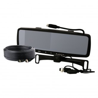 "ECCO® - Rear View Mirror with Built-in 4.3"" Monitor"