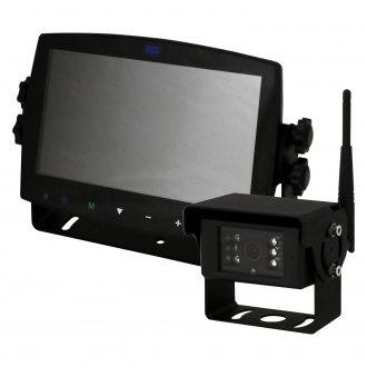 "ECCO® - Rear View System with 7"" Quad Screen Monitor and Surface Mount Camera"
