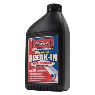 Edelbrock® - SAE 30 High Performance Premium Break-In Oil