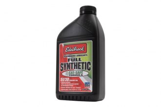 Edelbrock® - SAE 5W-30 High Performance Cat Safe™ Synthetic Oil