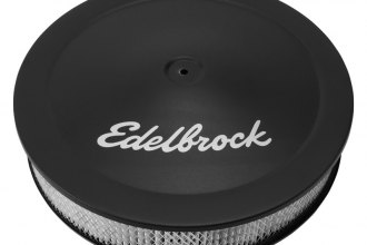 "Edelbrock® 1223 - Pro-Flo™ Series 14""X3"" Black Round Air Cleaner"