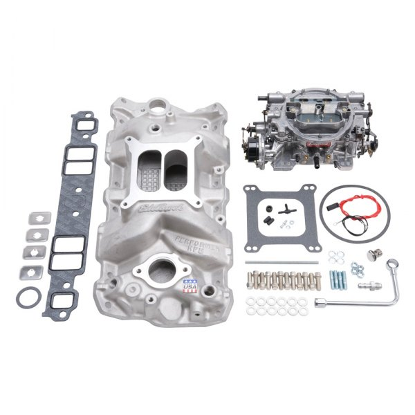 Edelbrock® - RPM Air-Gap™ Single-Quad Intake Manifold and Carburetor Kit