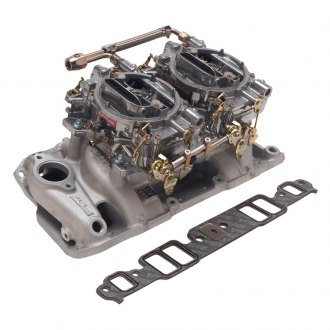 Edelbrock® - RPM Dual-Quad Intake Manifold and Carburetor Kit