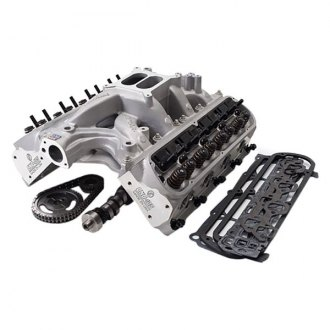 Edelbrock® - 418 HP RPM Series Engine Power Package Satin Top End Kit