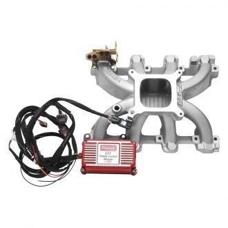 Edelbrock® - Victor Jr.™ High-Rise Carbureted Single Plane Intake Manifold