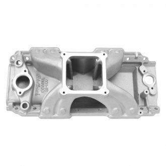 Edelbrock® - Victor™ Carbureted Single Plane Intake Manifold