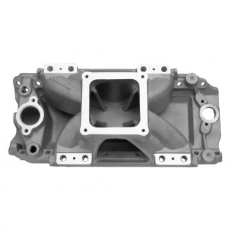 Edelbrock® - Super Victor™ Tall-Deck Satin EFI Single Plane Intake Manifold