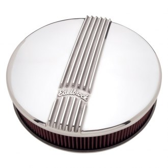 "Edelbrock® - Classic Series™ Cast Round Air Cleaner Assembly (14"" OD x 3.9"" H)"