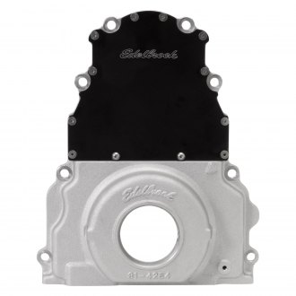 Edelbrock® - Two-Piece Aluminum Timing Cover