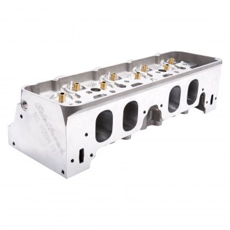 Edelbrock® - Big Victor Spread-Port CNC Bare Satin Satin Cylinder Head
