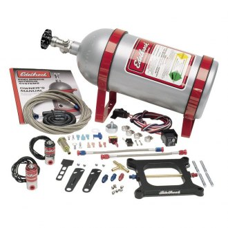 Edelbrock® - Performer Q-Jet Bottle For Spread-Bore Carburetors