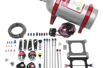 Edelbrock® - Performer RPM II Dual-Stage Nitrous Plate System Kit For 4500 Series Carburetors