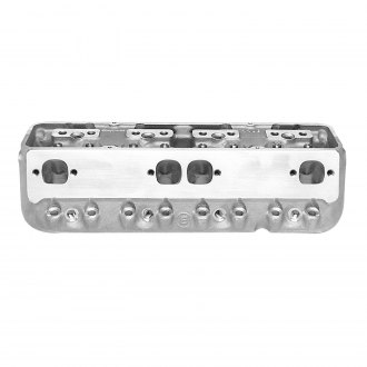 Edelbrock® - Victor Jr. 23 Degree-215cc Satin Cylinder Head