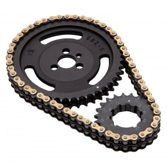 Edelbrock® - Victor-Link 9 Key Ways Timing Chain Set