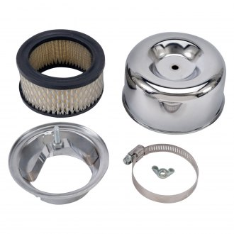 "Edelbrock® - 94™ Round Chrome Air Cleaner Assembly (2.63"")"
