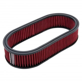 Edelbrock® - Pro-Flo™ Oval Red Air Cleaner Filter with White Strip