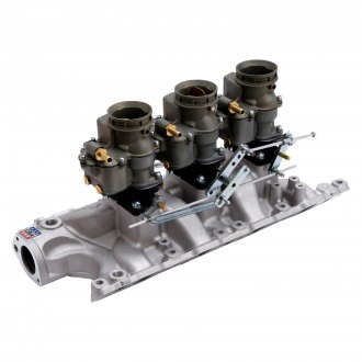 Edelbrock® - Vintage™ Triple Deuce Intake Manifold and Carburetor Kit
