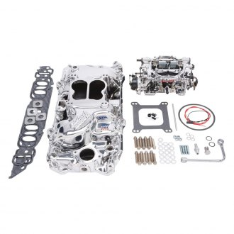 Edelbrock® - Performer™ Single-Quad Intake Manifold and Carburetor Kit