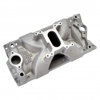 Edelbrock® - Victor Jr.™ Sportsman 2V Satin Single Plane Intake Manifold