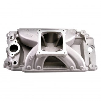 Edelbrock® - Super Victor™ Tall-Deck Carbureted Single Plane Intake Manifold