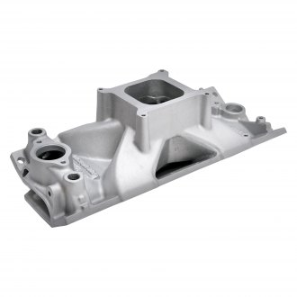 Edelbrock® - Victor Jr.™ Tall-Deck Single Plane Intake Manifold