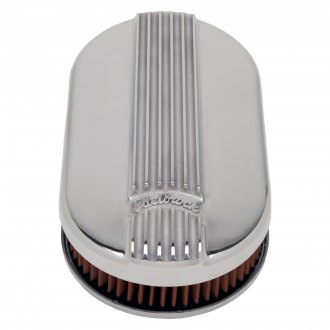 "Edelbrock® - Classic Series™ Cast Small Oval Air Cleaner Assembly (3.9"")"