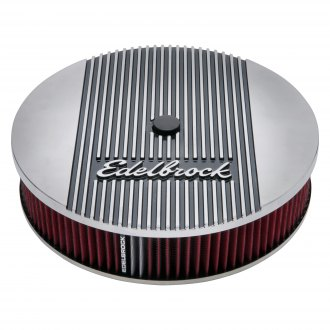 "Edelbrock® - Elite II Series™ Round Air Cleaner Assembly (14"" OD x 3"" H)"