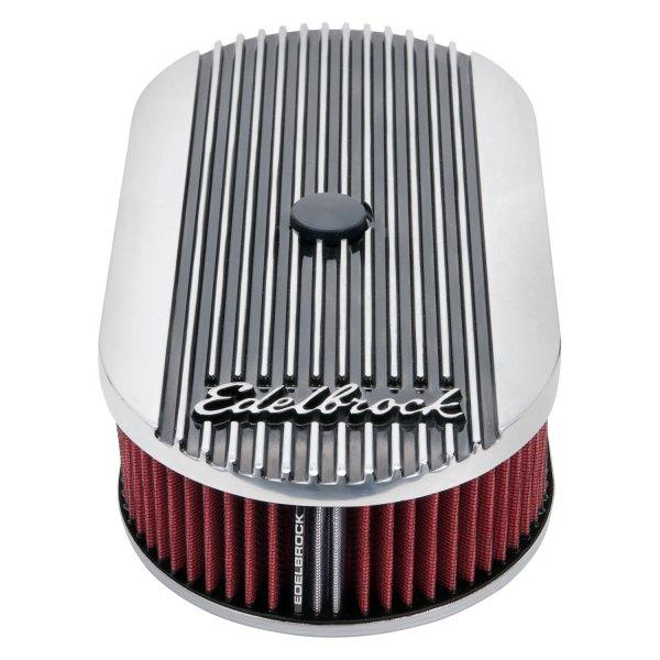 Edelbrock Air Cleaner : Edelbrock elite ii series™ oval air cleaner