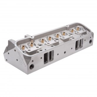 Edelbrock® - Performer RPM CNC Satin Cylinder Head