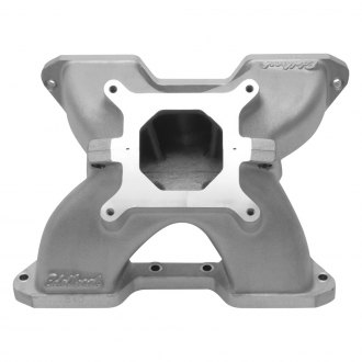 Edelbrock® - Victor™ Two-Piece Design Satin Single Plane Intake Manifold