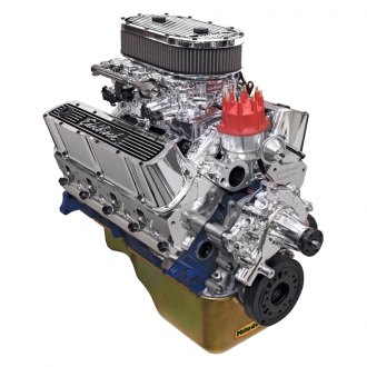 Edelbrock® - Performer RPM Dual-Quad Crate Engine Front Sump Application