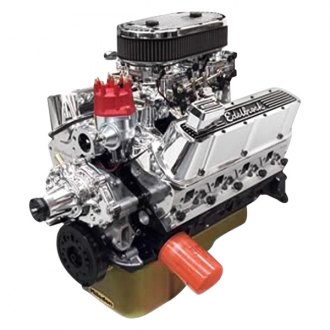 Edelbrock® - Performer RPM Dual-Quad Crate Engine Rear Sump Application